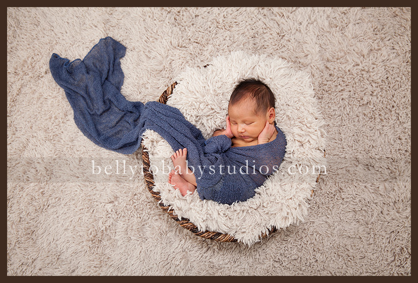 high end newborn portrait photographer Houston